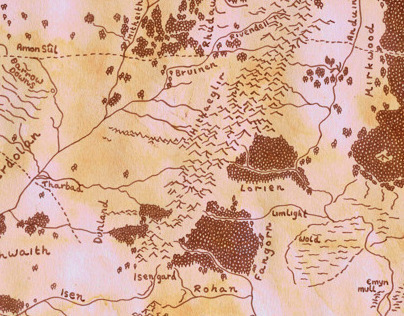 Mithril: Middle Earth Map