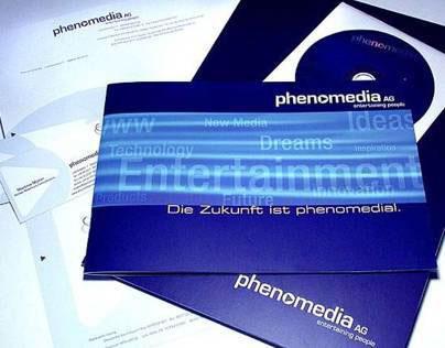 Corporate Identity für Phenomedia AG