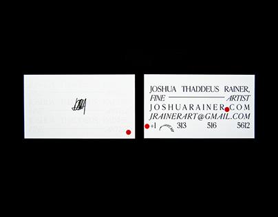 Personal Branding   Joshua Thaddeus Rainer Fine Art
