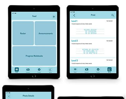 UI/UX Design: Loop & Letter