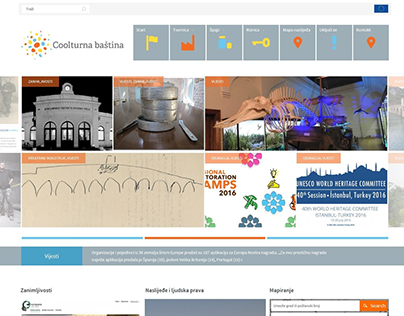 Website for Coolturna baština