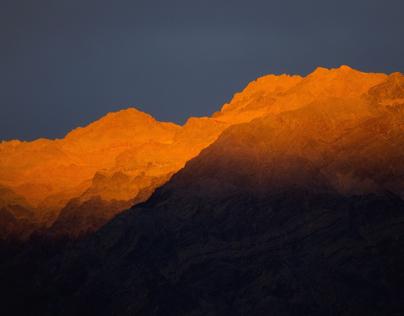 Veins of Gold, Death Valley