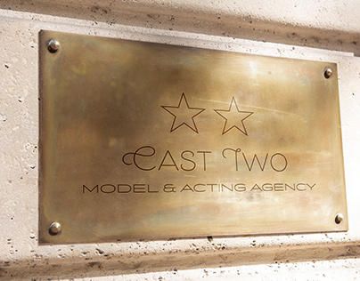 Logo proposals Cast Two · Model & Acting Agency
