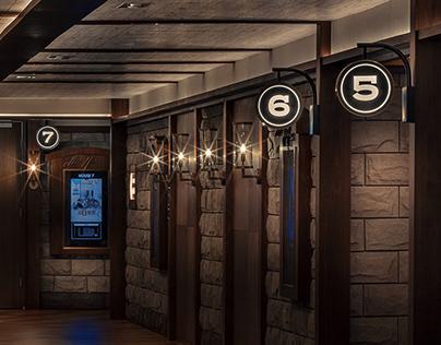 UA Cinema K11 Art House, wayfinding system