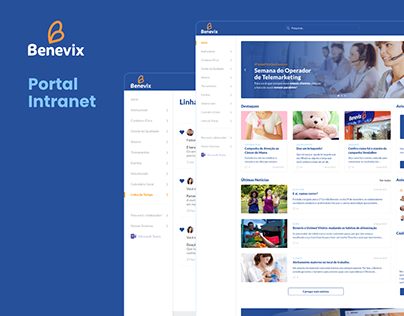 Portal Intranet - Benevix