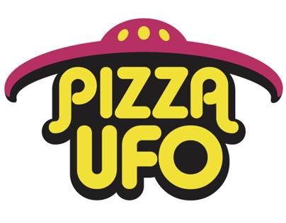 Logo für Pizza UFO