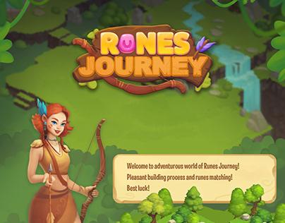 Runes journey game art