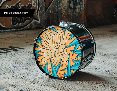 Product Photography - Sun Dye Drums