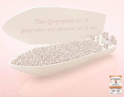 Advertising - Neo-Laryngobis Suppository