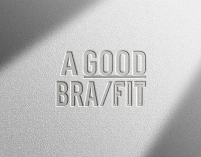 A GOOD BRA / FIT。Logotype & Background image & Icon