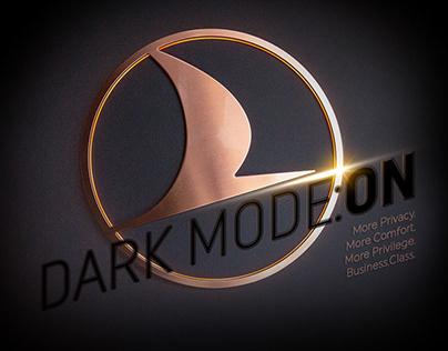 Dark Mode: Turkish Airlines Business Class