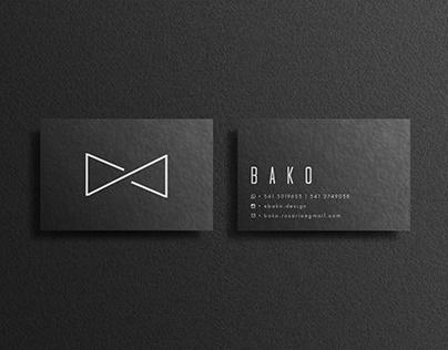 BAKO | Bussines Cards