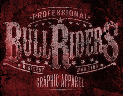Professional Bull Riders - Apparel Design