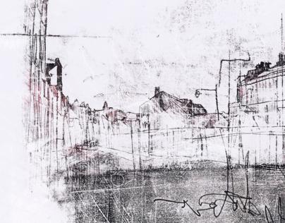Harbour Monoprints
