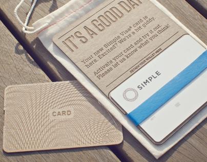 Simple Card Packaging