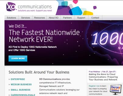 XO Communications - 100G Network Launch