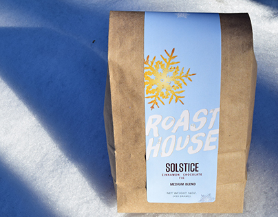 Roast House Coffee - Solstice Label, 2014