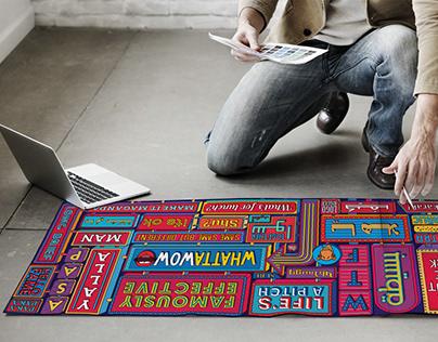 Typographic Wall Design