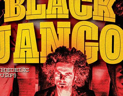 Flyer for Amsterdam Beatclub @DNA star. Black Djangos
