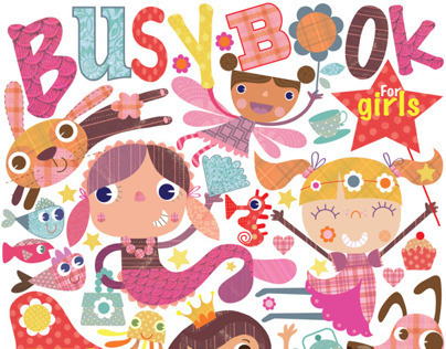 Busy Book for Boys & Girls