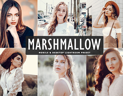 Free Marshmallow Mobile & Desktop Lightroom Preset