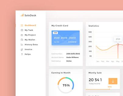 SaleDesk Admin Dashboard