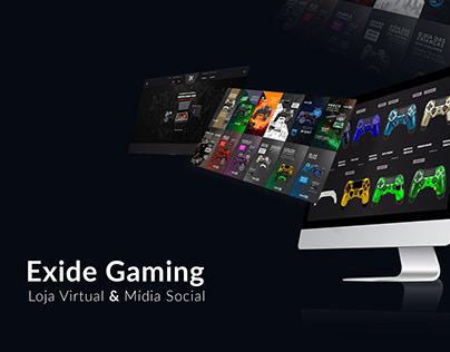 Loja Virtual - Exide Gaming