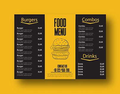Resturant Menu Design