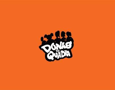 Logotipo - Donas da Quadra (coletivo de basquete fem)