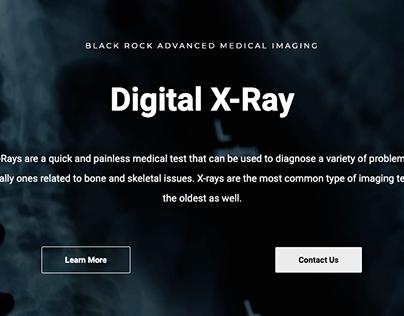 Black Rock Advanced Medical Imaging - Web Design