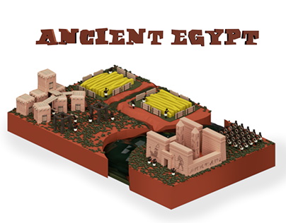 Ancient Egypt - 3D Infographic