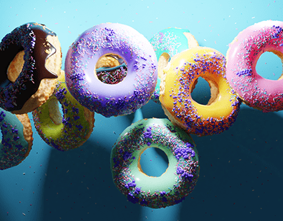 Donuts 3D Modeling and visualization
