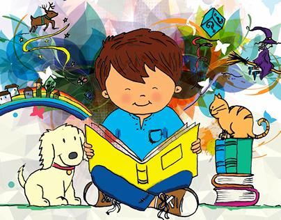 Libro de Dibujos y Adivinanzas hechas por niños