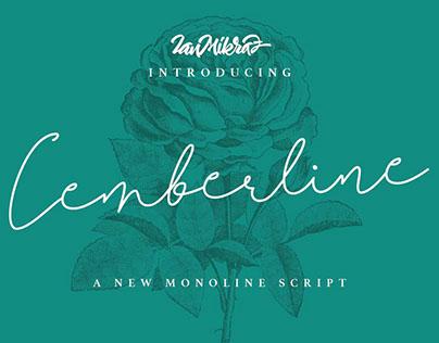 Cemberline Typeface