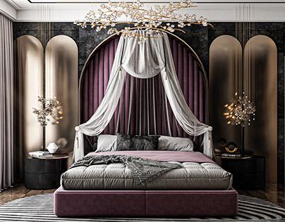 ...chambre royale...