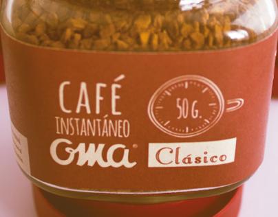 . OMA - CAFÉ INSTANTÁNEO .