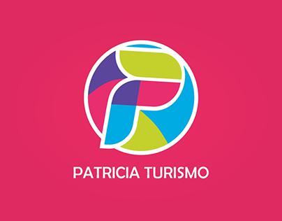 IDENTIDADE VISUAL PATRICIA TURISMO
