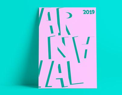 Carnaval. Serie de pósters.