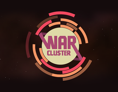 War Cluster game interface and characters