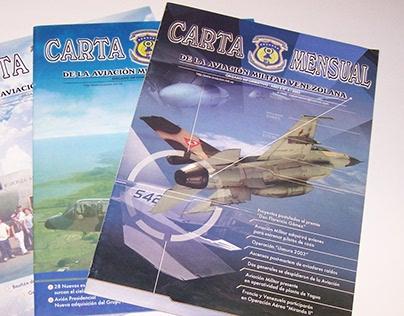 Revista Carta Mensual de la Aviación Venezolana