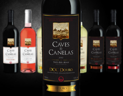Caves de Canelas | wine labels