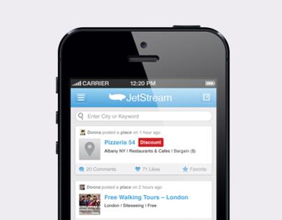 JetJoose.com Mobile App Concept & Wireframes