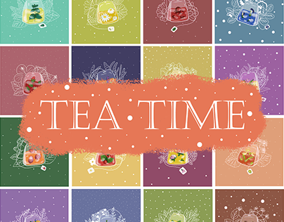 ILLUSTRATIONS for TEA BAGS