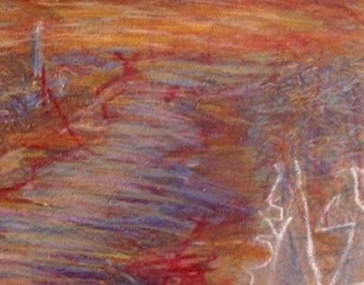Color Pencil Landscape