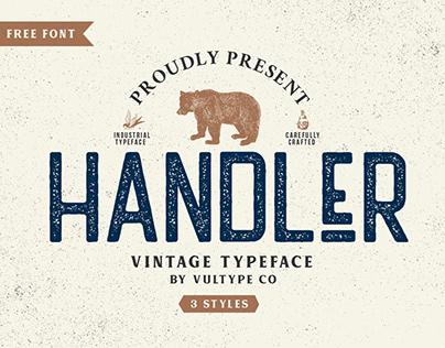 FREE | Handler Vintage Sans Serif