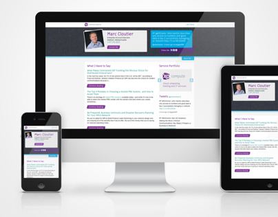 XO Sales Rep Pages - Responsive Landing Page