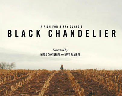 Biffy Clyro Black Chandelier On Behance