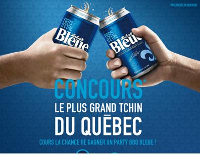 Le plus grand tchin du Québec - Labatt Bleue