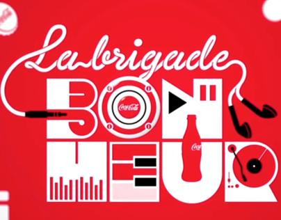 La Brigade du Bonheur Coca-Cola