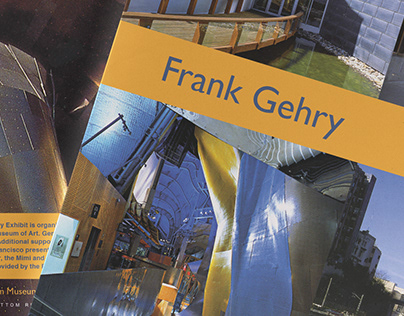 Editorial Design: Frank Gehry